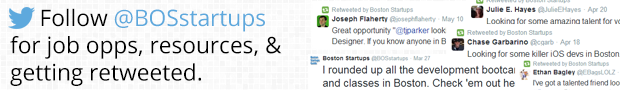 Follow Boston Startups Guide on twitter.